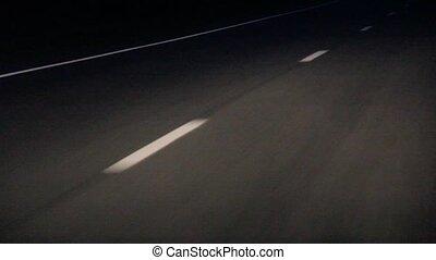 przerywany, drogowe znakowanie