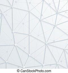 przestrzeń, abstrakcyjny, nowoczesny, polygonal, tło., wektor