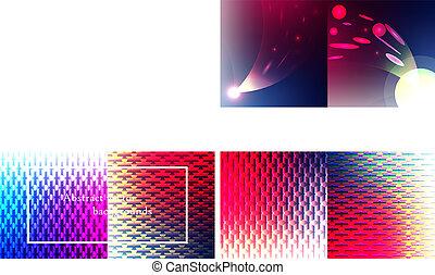 przestrzeń, abstrakcyjny, nowoczesny, tło., wektor, tło
