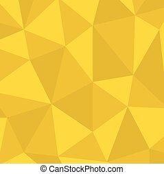 przestrzeń, nowoczesny, wektor, tło., polygonal