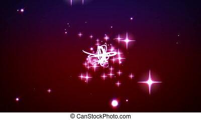 przestrzeń wybuch, gwiazdy