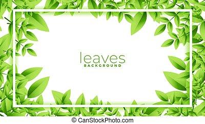 przestrzeń, zielone listowie, ułożyć, tekst, projektować