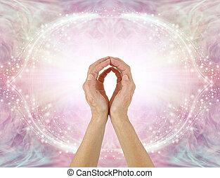 przesyłka, miłość, energia, gojenie, healer, unconditional