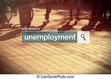 przetrząśnięcie sieći, bar, bezrobocie, glossary, termin