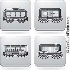 przewóz, popędzać, icons:, przemysł