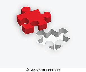 przez, zagadka, ilustracja, pojęcie, stosowność, potrzeba