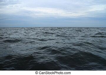 przeziębienie, szorstki, morze, barents