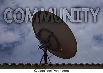 przymierze, sąsiedztwo, fotografia, house., przynależność, stare miasto, grupa, antena, niebo, pojęcia, pisanie, stan, tekst, konceptualny, handlowy, pokaz, jedność, ręka, związek, telewizja, wiadomości, pochmurny, community.