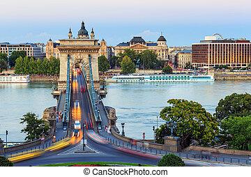 przymocujcie most, budapeszt, węgry