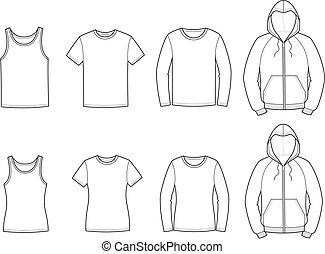 przypadkowe ubranie