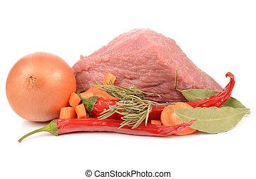 przyprawa, świeże mięso