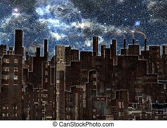 przyszłość, miasto