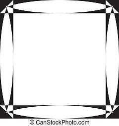 pseudo, παραβολικός , οθόνη , κορνίζα , επάνω , διαφάνεια , φόντο , στοιχείο