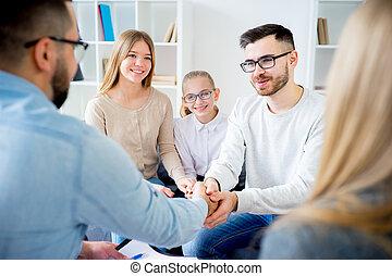 psicólogo, família