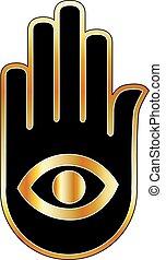 psichico, mente, lettore, logotipo, o