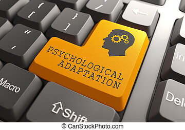 Psichological Adaptation Orange Button. - Psichological...