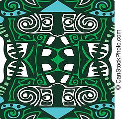 psicodélico, abstracción, plano de fondo, tribal
