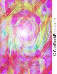 psicodélico, espiral