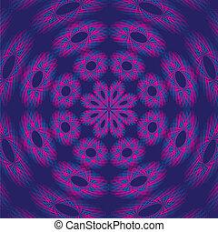 psicodélico, fondo púrpura