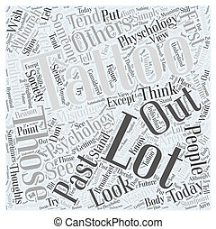 psicologia, e, tatuaggi, parola, nuvola, concetto