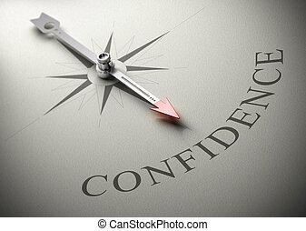 psicologia, treinar, confiança, próprio