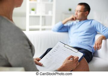 psicologico, consultazione