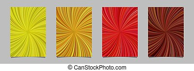 Psychedelic abstract striped spiral pattern poster background