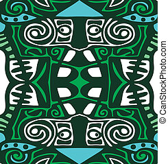 Psychedelic abstraction background tribal