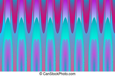 psychedelic background abstract design - Vector Illustration...
