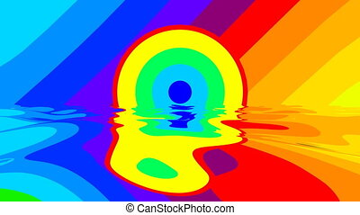 Psychedelic Colorful Liquid Plasma - Colorful liquid plasma....