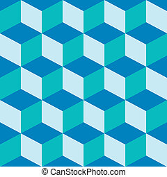 psychedelic pattern mixed blue, vector art illustration;...