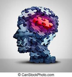 Psychiatric Patient - Psychiatric patient symbol and...