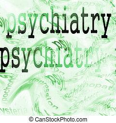 psychiatrie, concept