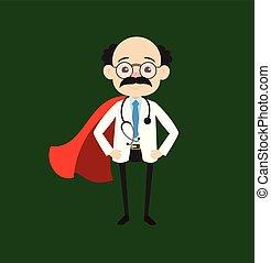 Psychiatrist - In Super Hero Costume