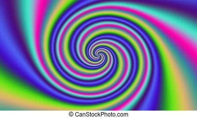 Psycho pattern seamless loop 4K UHD