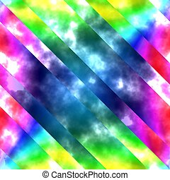 psychodelic abstract background