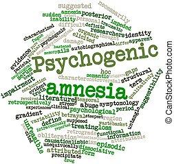 psychogenic, 健忘症