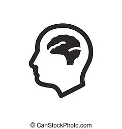 psychologie, icône