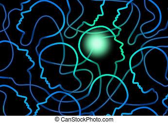 psychologie, social