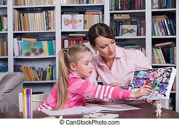 psychologue, travail, enfant