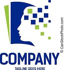 Psychology and Mental Health logo concept
