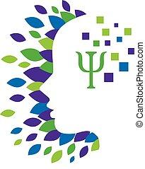 Psychology Concept Design - elegant Psychology and Mental ...