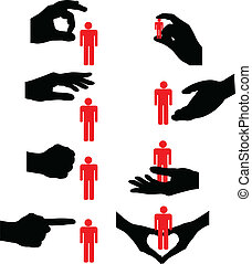 psychology, human, exclusion, crushed, downsizing