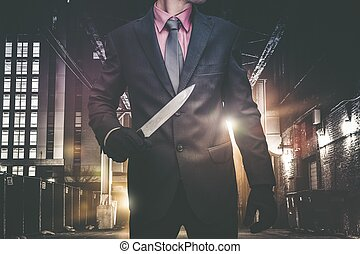 Psychopathic Urban Killer - Psychopathic Downtown Murderer...