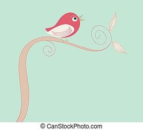 ptáček, šikovný