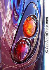 PT Cruiser Taillight - Retro taillights on a PT Cruiser car....