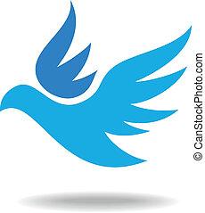 ptak, ikona
