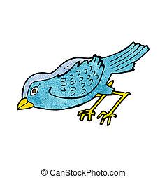 ptak, ogród, rysunek