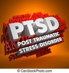 PTSD Concept. - PTSD - Posttraumatic Stress Disorder - the ...