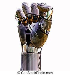 puño, androide